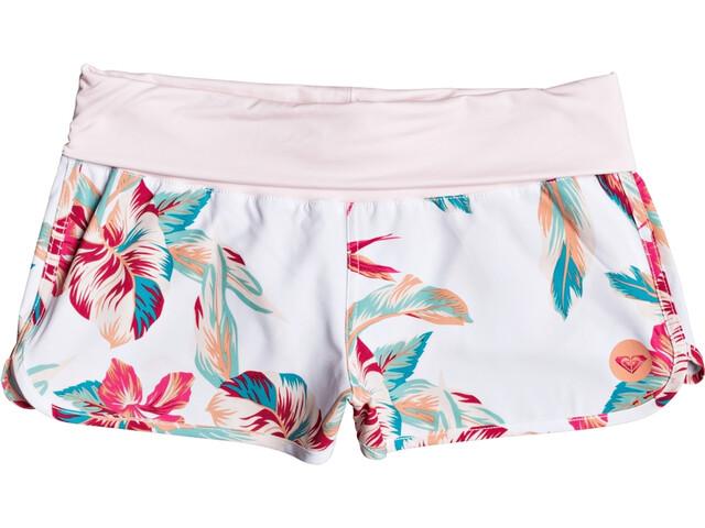 Roxy Endless Summer Printed Boardshorts Women bright white tropic call s